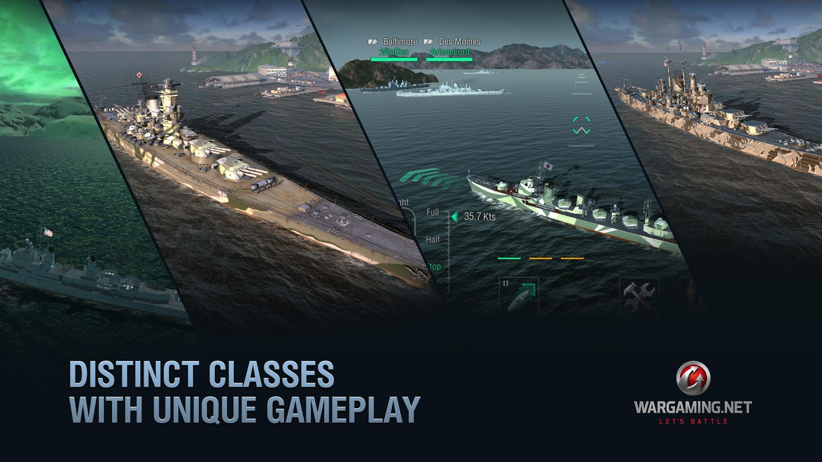 World of Warships Blitz: MMO Navy Fleet War Game- screenshot