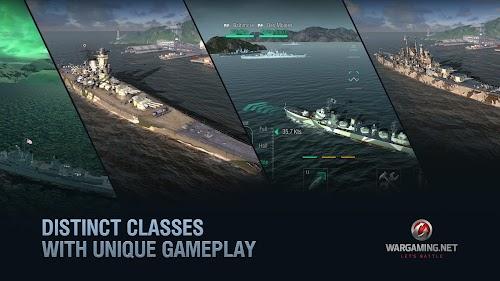 Screenshot 2 World of Warships Blitz: Multiplayer Navy War Game 1.9.0 APK MOD