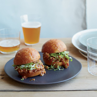 Asian Sloppy Joe Sliders.