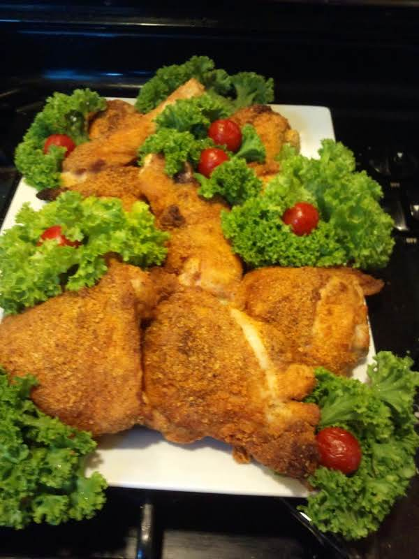 Coconut Flour Faux Fried Chicken/oven Method Recipe