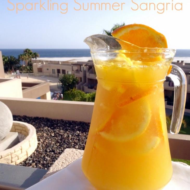 Sparkling Summer Sangria