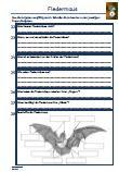 Fledermaus Schularbeit Klassenarbeit Lernzielkontrolle