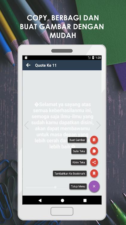 Kumpulan Kata Ucapan Wisuda Lengkap – Android Aplikace