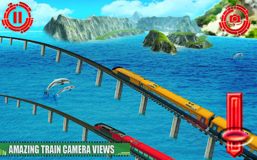 Train Simulator 3d Game 2020: Free Train Games 3d modavailable screenshots 9