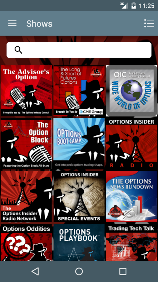 Options Insider Radio Network- screenshot