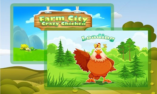 Farm in the Village: Crazy Chicken 3D - náhled
