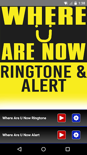 Where Are U Now Ringtone