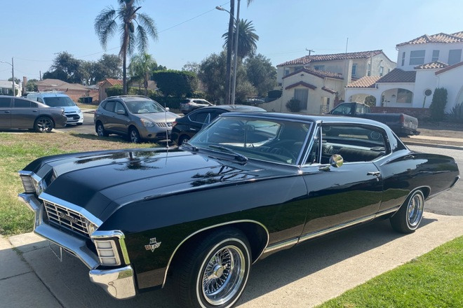 1967 CHEVY CAPRICE Hire CA