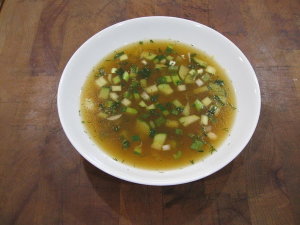 Green Gazpacho Recipe