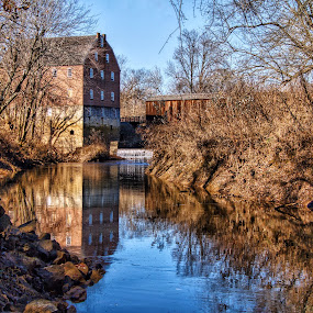Bollinger Mill by Margie Troyer - Buildings & Architecture Public & Historical