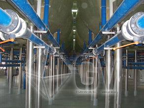 Photo: Gas Vapor S.L. - www.gv.iei.es Instalación de Áreas de Recepción y Cocido-Fermentadores Aéreos
