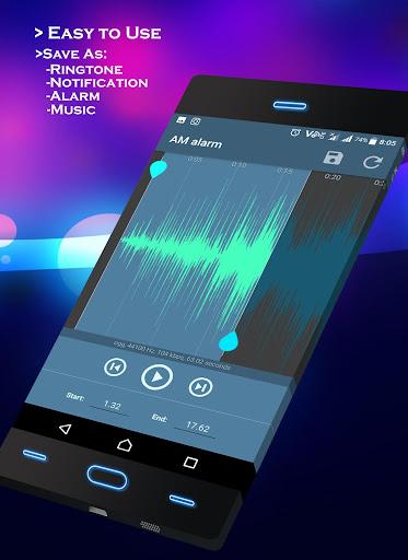 mod Ringtone Maker - MP3 Cutter  screenshots 1