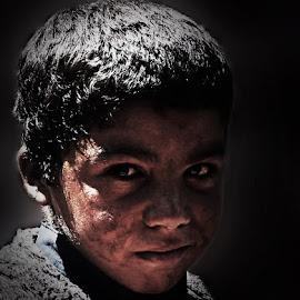 Afghni by Abdul Rehman - Babies & Children Child Portraits ( refuge, natural light, afghani, smile, sunlight, eyes,  )