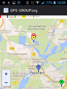 GPS locater location finder - náhled