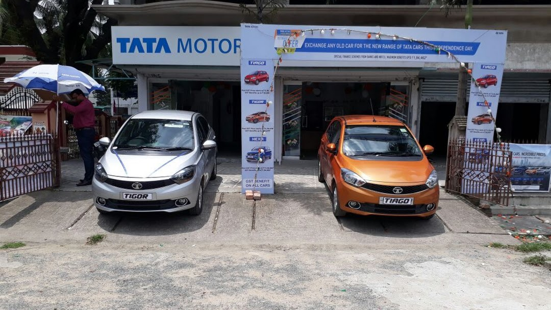RD Motors Kalyani, Tata motors showroom, Tata car Dealer and