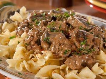 Healthy Creamy Turkey Stroganoff Recipe