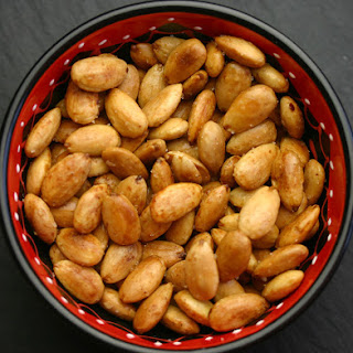 Roasted Almonds.