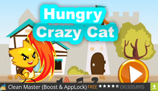 Hungry Crazy Cat