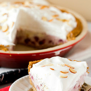 Cranberry Ice Cream Pie
