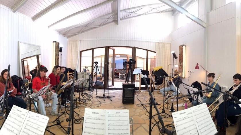 Concierto de la Valparaíso Big Band que tuvo que retransmitirse vía 'streaming'.