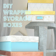 DIY designer storage boxes