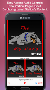 Big Dawg WMNC 92.1- screenshot thumbnail