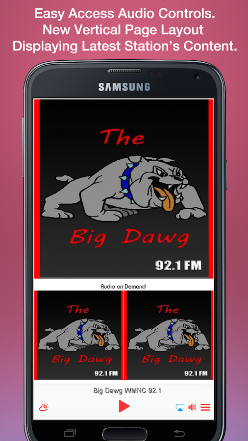 Big Dawg WMNC 92.1- screenshot