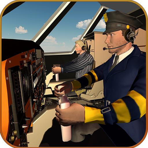 Airplane Pilot Training Academy Flight Simulator