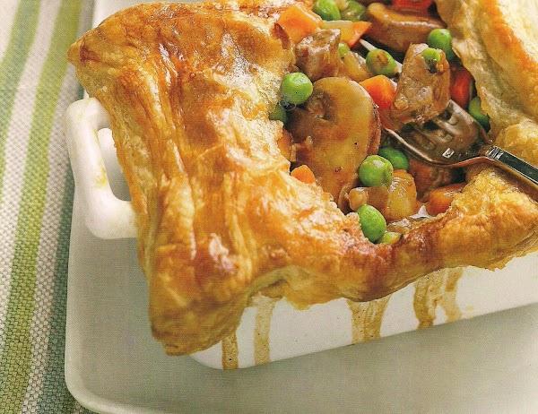 Steak And Mushroom Pot Pies Recipe