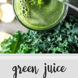 Vitamin Boost Green Juice.