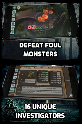 Ancient Terror: Lovecraftian Strategy Board RPG ud83cudfb2 1.7.08 screenshots 4