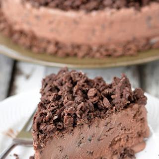 Chocolate Crunch Ice Cream Cake.