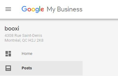 posts tab google my business