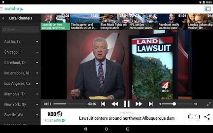 Watchup: Video News Daily Screenshot 18