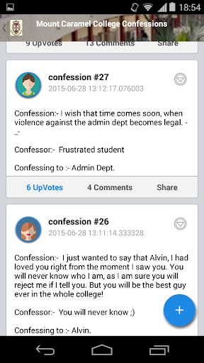 Mahaveer Jain Clg Confessions