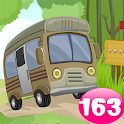 Caravan Escape Game 163 icon