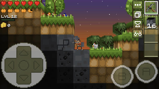 LostMiner: Block Building & Craft Game v1.4.2a screenshots 1