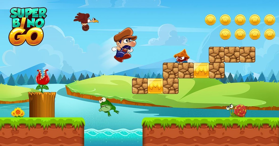 Super Bino Go - New Games 2019 Android App Screenshot