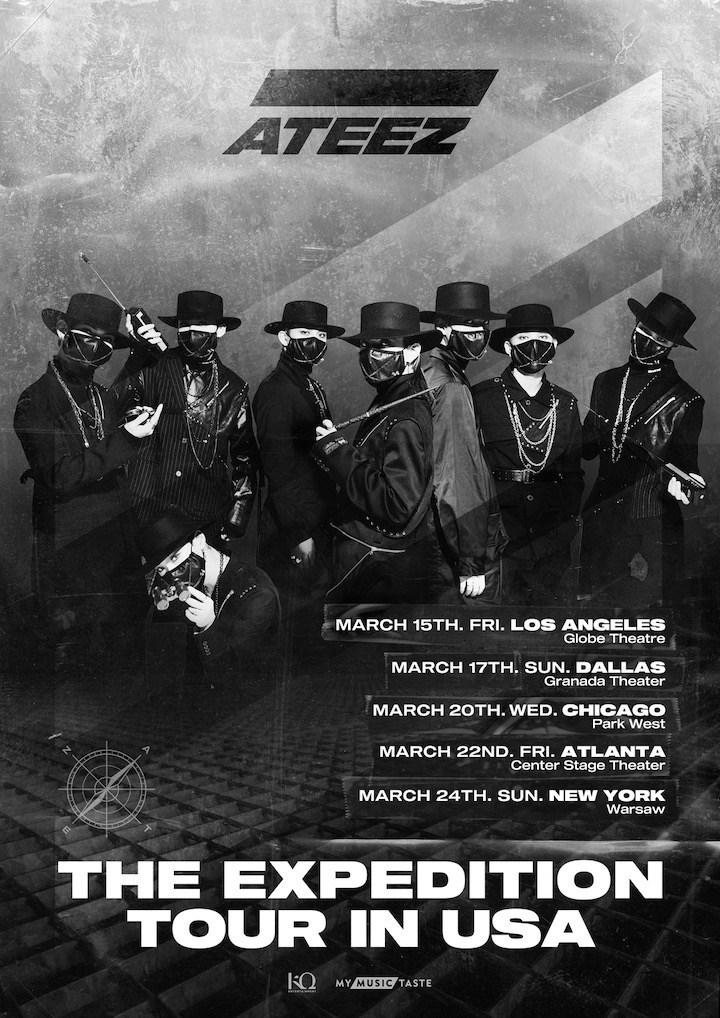ATEEZ-USA-Тур-poster3