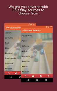 APA Citation Generator- screenshot thumbnail