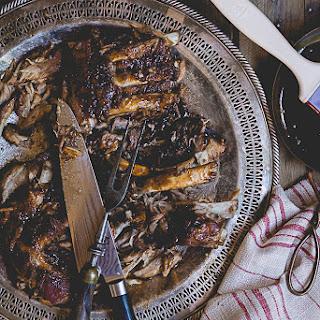 Crock Pot Pork Back Ribs.