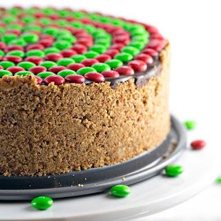 No Bake M&M'S® Pretzel Peanut Butter Pie.