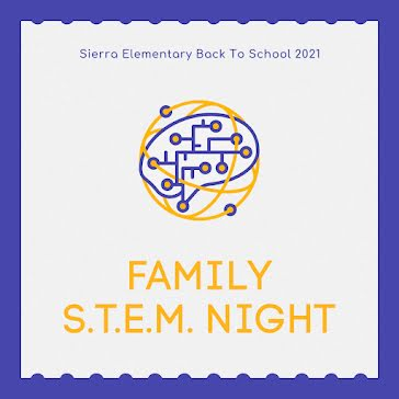 Family STEM Night - Instagram Post template