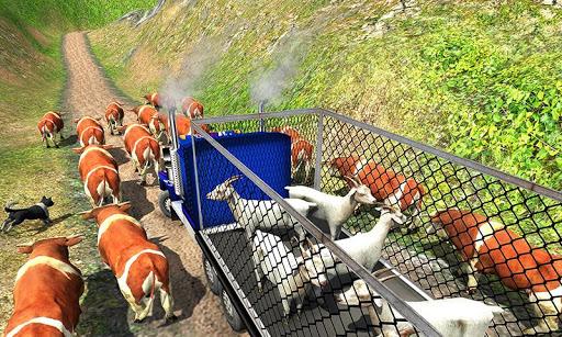 Offroad Farm Animal Truck Driving Game 2018 1.2 screenshots 4
