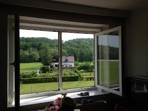 Photo: Blick aus dem Wohnzimmer.