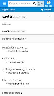 Szlovák-Magyar szótár - náhled