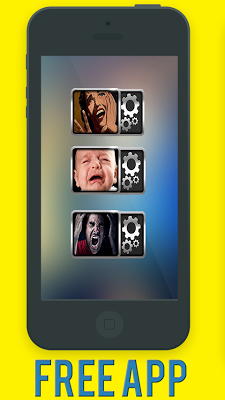 Scary scream prank widget - screenshot