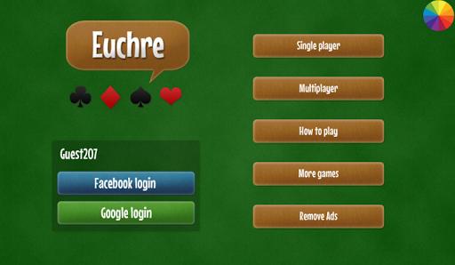 Euchre free card game 1.7 screenshots 1