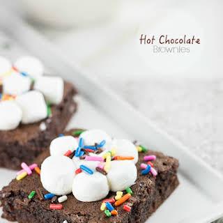 Hot Chocolate Brownies.