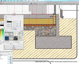 Photo: Example of LayOut Detail where lines have been converted to vector entities.